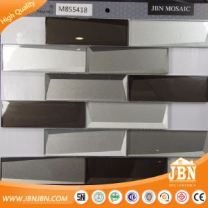 Mirror Reflection Cold Spray Glass Mosaic Tile for Wall Decoration (M855418) pictures & photos