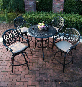 5PC Calssic Garden Bar Set Cast Aluminum Furniture pictures & photos