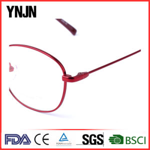 Ynjn Ladies Red Optical Glasses Frame (YJ-J6998) pictures & photos