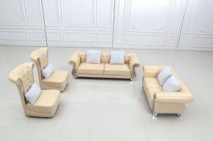2015 New Design Luxury European Design Modern Geniune Leather Sofa pictures & photos