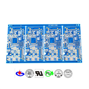 Multilayer Customized Blue Soldermask PCB Circuit Board pictures & photos