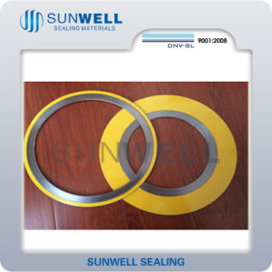 Spiral Wound Gasket Dn15 to Dn600/Pn16, 25, 40, 63, 100, 160 (SUNWELL seals) pictures & photos