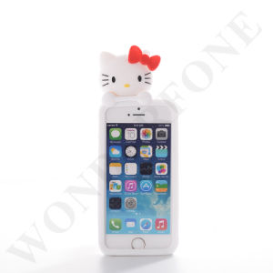 Mobile Phone Silicon Animal Case Cover for iPhone pictures & photos