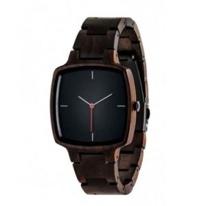 OEM Square Wooden Watches Leisure and Fashion Style Wooden Watches pictures & photos