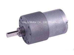 37mm 12volt 24volt Micro Gearbox Carbon Brush Gear Motor pictures & photos