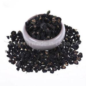 Medlar Brc ISO 9001 Kosher Dried Black Gojiberry pictures & photos