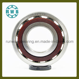 Single Row Angular Contact with Bakelite Holder Bearing, Roller Bearings, Factory Production (7310AC)