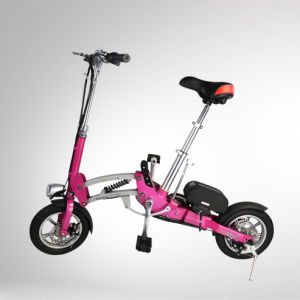 High Quality 12 Inch Two Wheels Folding Electric Bike