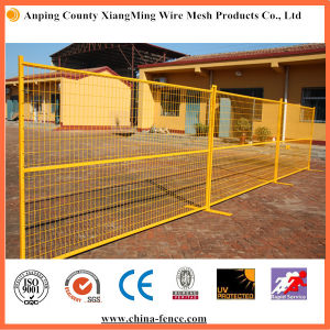 Canada Steel Powder Coating Temporary Fencing pictures & photos