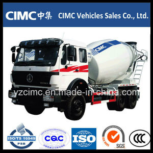 9000liters Heavy Duty North Benz Beiben Concrete Mixer Truck pictures & photos