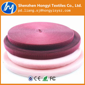 Colorful Nylon/Polyester Elastic Band Hook & Loop for Shoes pictures & photos