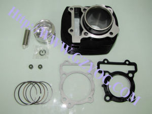 Yog Motorcycle Parts Cylinder Kit Piston Complete Rings Gasket Iron Block Std Dy90 St70 Cbf125 CB125 Cg125 Cg150 Cg200 YAMAHA Fz16 Italika Cylinder for Honda pictures & photos