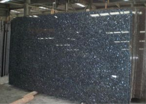 Polished Blue Pearl Slab for Vanity Top and Countertop pictures & photos