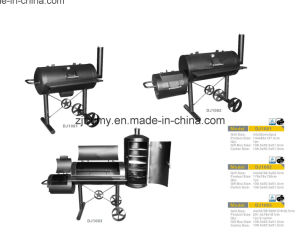 Charcoal Barrel BBQ Grill Outdoor Barbecue Grill with Wheels pictures & photos