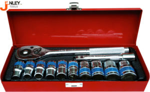 12PCS Socket Set with Cr-V Materal