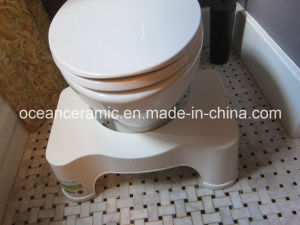 9012e Upc Squatty Potty, American Standard Water Closet, Siphonic Elongated Two Piece Ceramic Toilet pictures & photos