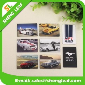 Customised Logo Card Personalized Fridge Magnets pictures & photos
