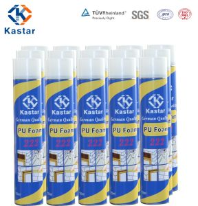 High Performance Gap Filling PU Foam (Kastar 222) pictures & photos