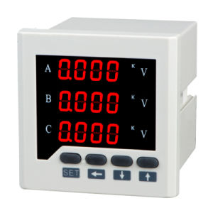 Digital Panel Voltmeter Three Phases pictures & photos