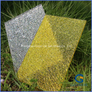 Yellow Clear Unbreakable Granule Polycarbonate PC Sheet pictures & photos