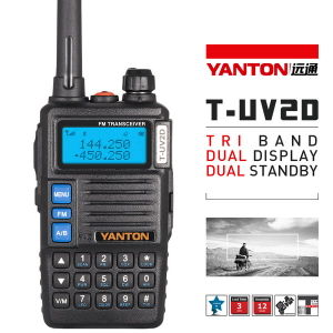 Thri-Band Ham Radio with Display Play (YANTON T-UV2D)