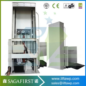 1 - 8m Wheelchair Lift for Disabled People / Home Use Small Elevator pictures & photos