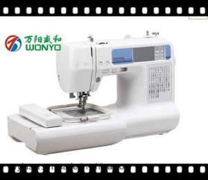 Portable Household Computerized Embroidery and Sewing Machine with All Patterns of Designswy1300 pictures & photos