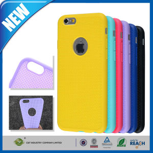 Multihole Dots Gel TPU Shield Case for iPhone 6 Plus pictures & photos