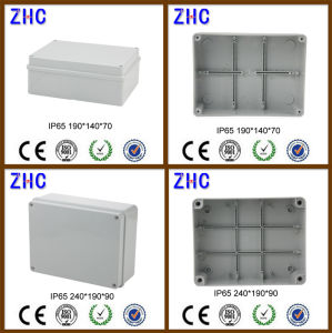 Hot Sale Durable Junction Box with Cable Gland IP65 Electrical Plastic ABS Watertight Box pictures & photos