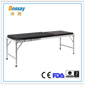 Stainess Steel Structure Patient Examination Bed for Clinic pictures & photos