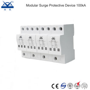 Single Phase 25-60ka Surge Protective Device SPD pictures & photos