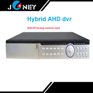 Analog Ahd IP Camera Input 16 Channel Hybrid Ahd DVR pictures & photos