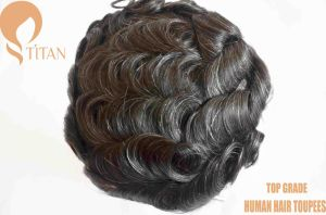 Nature Remy 100% Human Hair Wig for Man pictures & photos