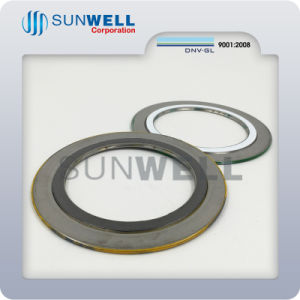 Spiral Wound Gaskets 304graphite Filler Carbon Steel Outer Ring/Swg (SUNWELL) pictures & photos