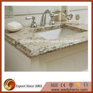 Beige Quartz Stone Vanity Top for Kitchen/Bathroom pictures & photos