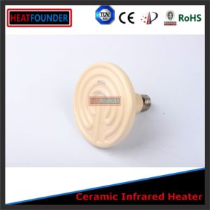 85X130mm Black Far Infrared Bulb Ceramic Heater pictures & photos