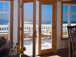 Aluminum French Exterior Door for Balcony for Sale pictures & photos