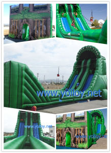 Inflatable Zip Line for Kids Party pictures & photos