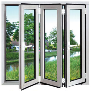 Aluminium Bi-Folding Window Aluminium Folding Window (TS-1110) pictures & photos