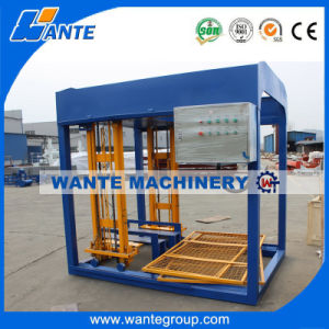 Qt4-15 Light Weight Concrete Foam Block Block Macking Machine pictures & photos