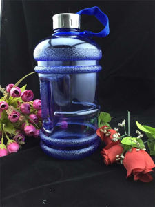 BPA Free Custom PETG 2.2L Plastic Water with Handle pictures & photos