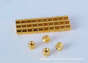 Plating Gold Permanent Sintered Neodymium/NdFeB Magnet pictures & photos