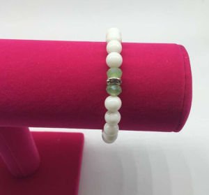 Glass Pearl Beads Diamond Bracelet (XBL13554) pictures & photos