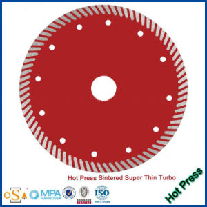 Hot Press Super Waved Turbo Diamond Cutting Saw Blade/Cutter/Wheel/Disc pictures & photos