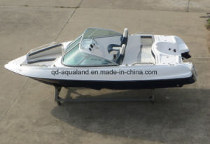 China Aqualand 17feet 5.2m Fiberglass Speed Boat/Rigid Sports Power Boat /Motor Boat (170) pictures & photos