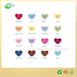 Self-Adhesive Stickers Colorful Labels Printing (CKT-LA-424) pictures & photos