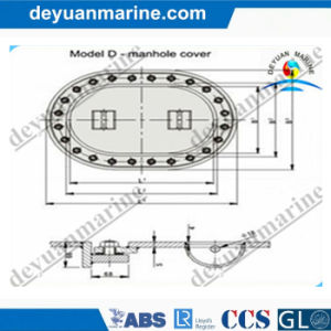 D Type Manhole Cover/Marine Watertight Hatch Cover pictures & photos