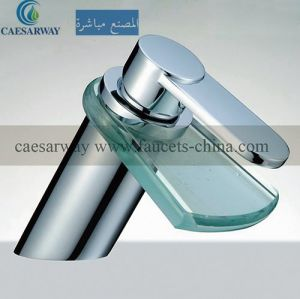 Sanitary Ware Bathroom Waterfall Basin Faucet pictures & photos