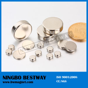 Znic NdFeB Cylinder Magnet with Top Quality pictures & photos