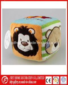 Hot Sale Baby Gift Toy of Plush Magic Cube Toy